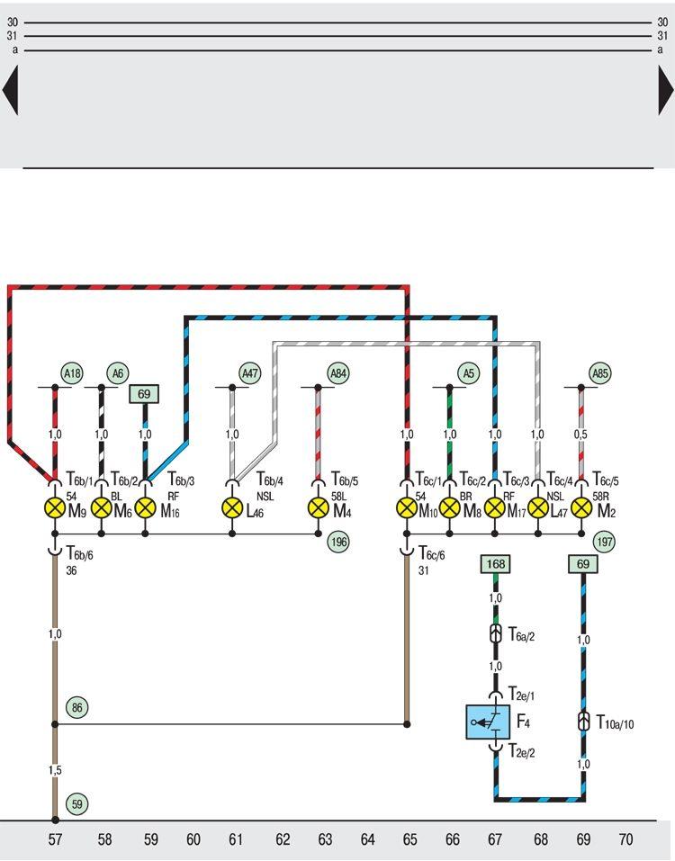 F4 – выключаель для фар